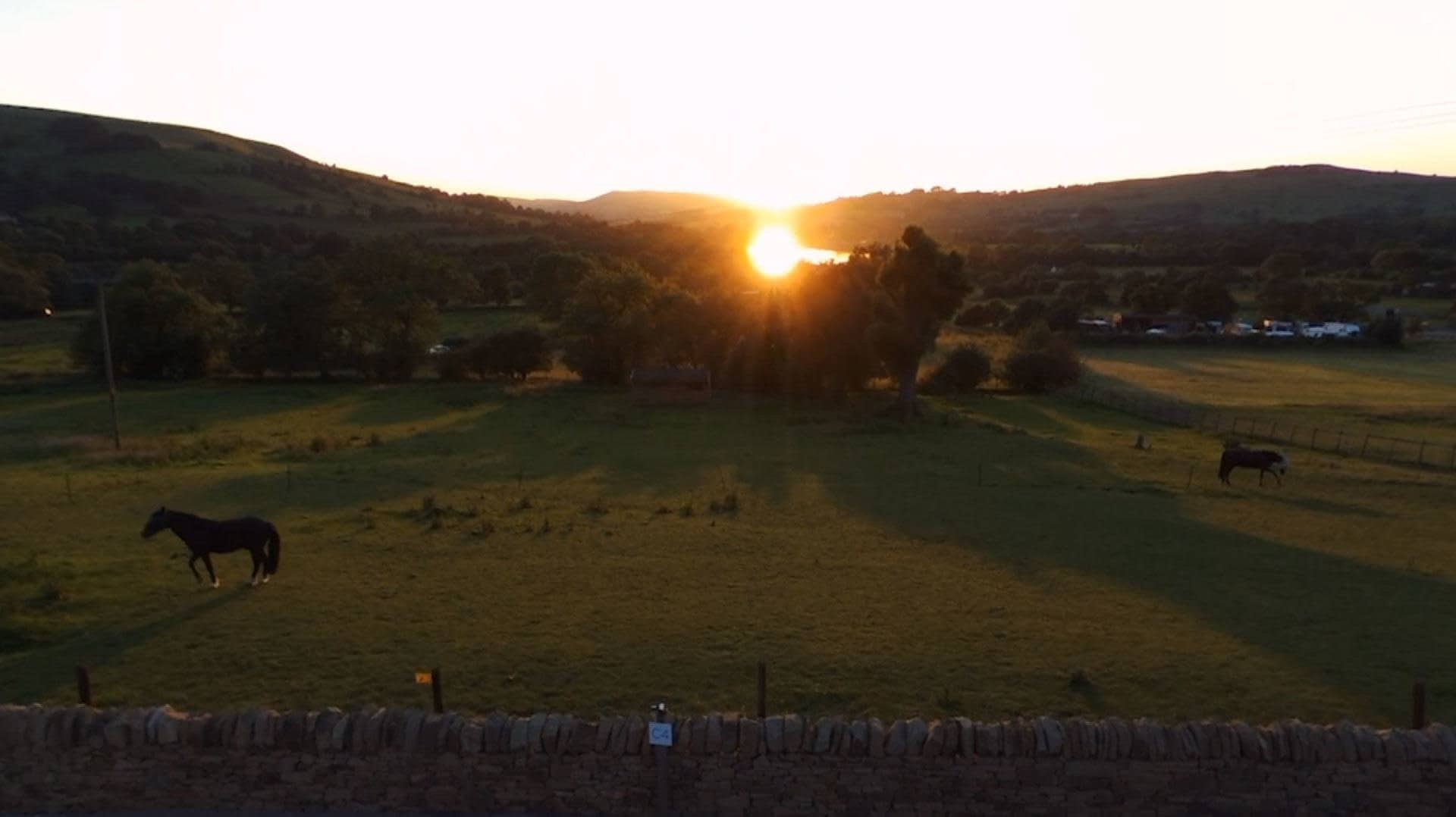 Combs valley compsite &v valley view holiday cottage video